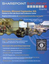 SharePoint Saturday - Ozarks